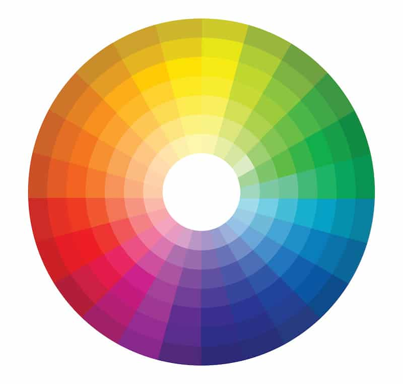The Standard Color Wheel