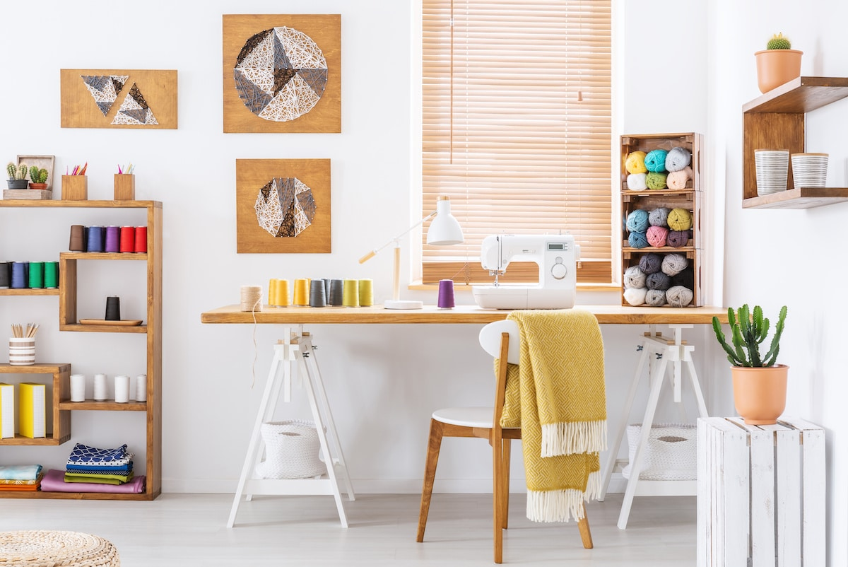 How to Design and Organize Your Home Sewing Room