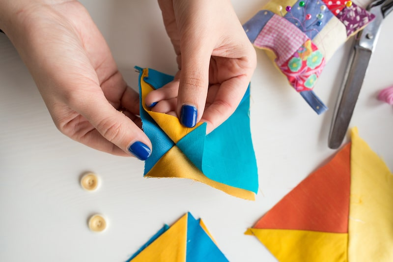 How to Form the Quilt's Corners