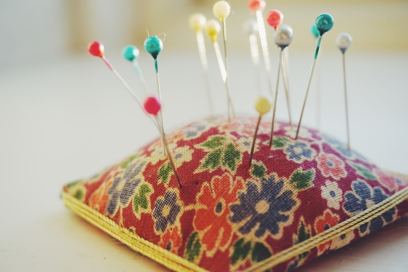 Use a Pin Cushion to Organize Your Pins and Needles