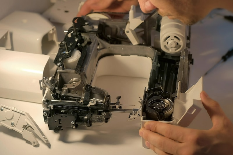 Have Your Sewing Machine Professionally Inspected